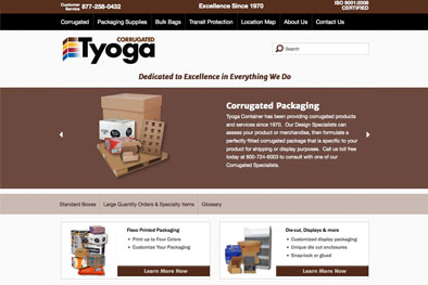 Tyoga Container