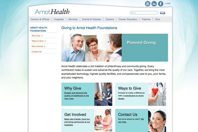 Arnot Health Careers Page