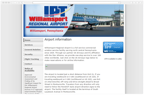 Williamsport Regional Airport