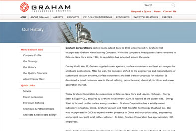 Graham Corporation Document Library